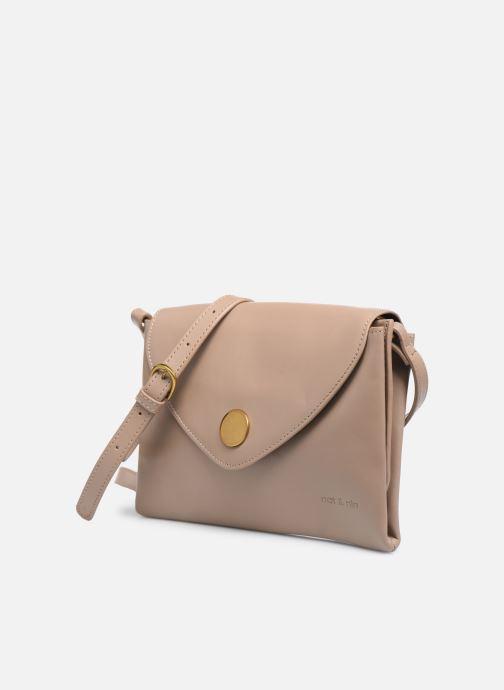 Handtaschen Nat & Nin Sally beige schuhe getragen