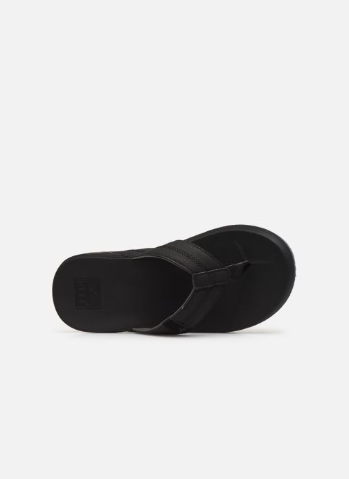 Slippers Reef Cushion Bounce Phantom Zwart links