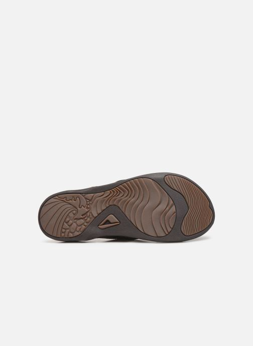 Tongs Reef Reef J-Bay III Marron vue haut