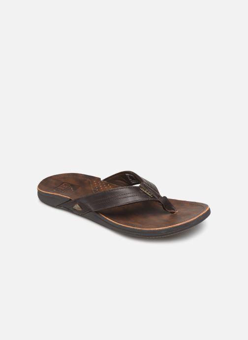 Flip flops & klipklapper Reef Reef J-Bay III Brun detaljeret billede af skoene