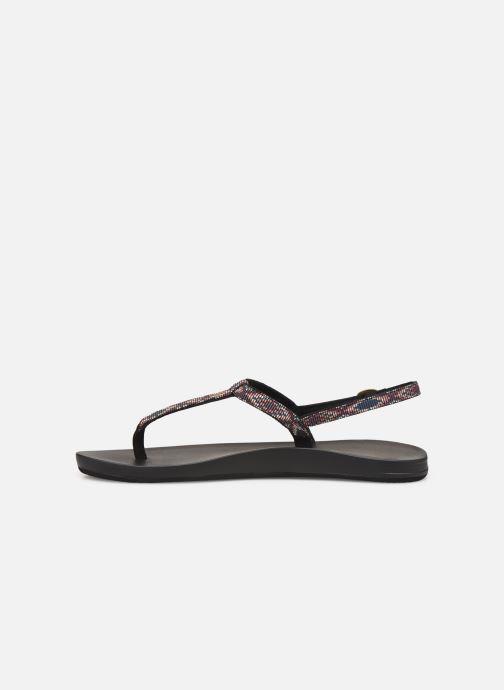 Sandales et nu-pieds Reef Cushion Bounce Slim T Noir vue face