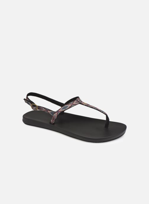 Sandales et nu-pieds Reef Cushion Bounce Slim T Noir vue détail/paire