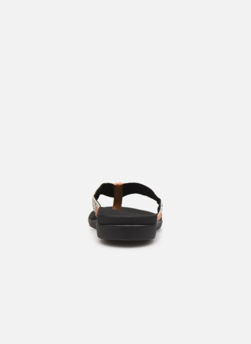 Chanclas Reef Reef Ortho-Bounce Woven Negro vista lateral derecha