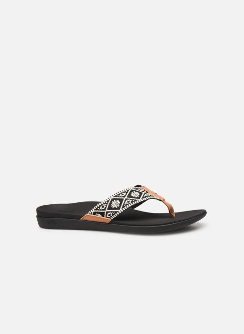 Chanclas Reef Reef Ortho-Bounce Woven Negro vistra trasera