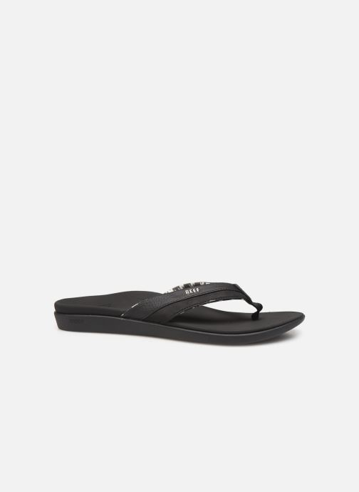 Chanclas Reef Reef Ortho-Bounce Coast Negro vistra trasera