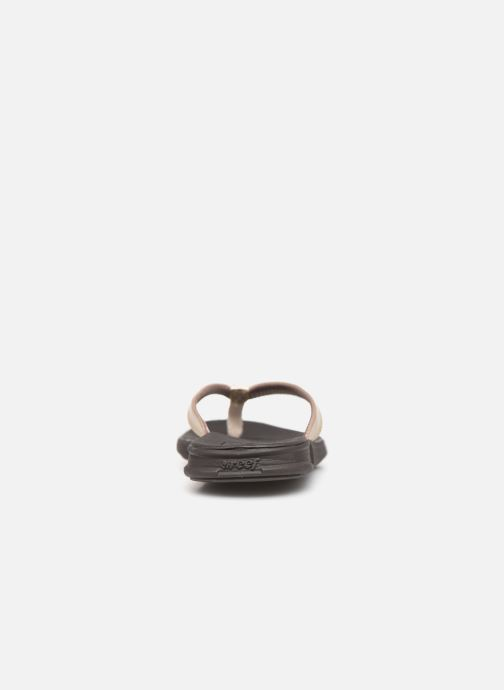 Tongs Reef Reef Rover Catch Or et bronze vue droite