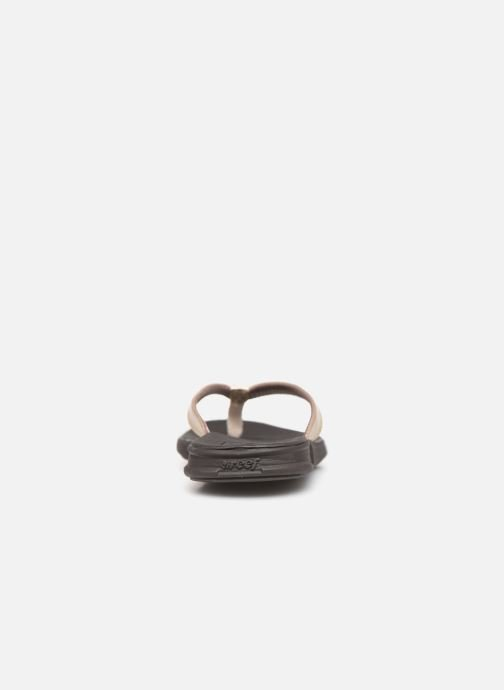 Chanclas Reef Reef Rover Catch Oro y bronce vista lateral derecha
