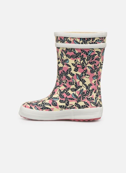Bottes Aigle Baby Flac Glit Rose vue face