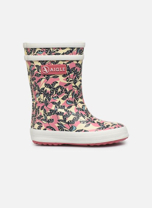 Boots & wellies Aigle Baby Flac Glit Pink back view
