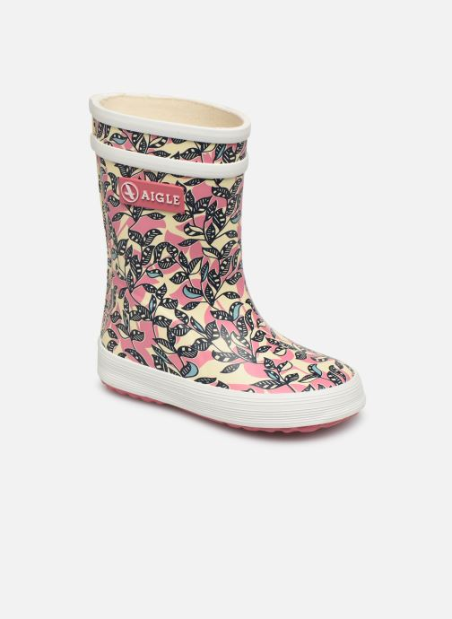Boots & wellies Aigle Baby Flac Glit Pink detailed view/ Pair view