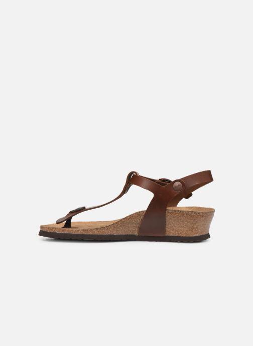 Sandali e scarpe aperte Papillio Ashley Cuir W Marrone immagine frontale