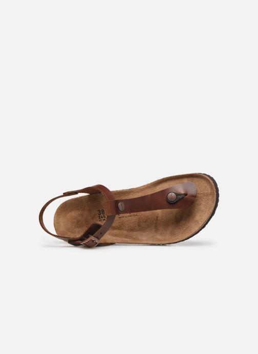 Sandali e scarpe aperte Papillio Ashley Cuir W Marrone immagine sinistra