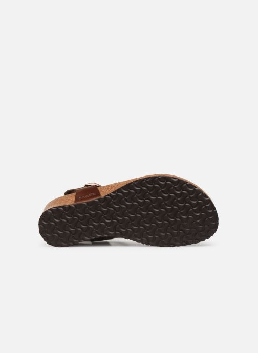Sandalen Papillio Ashley Cuir W Bruin boven