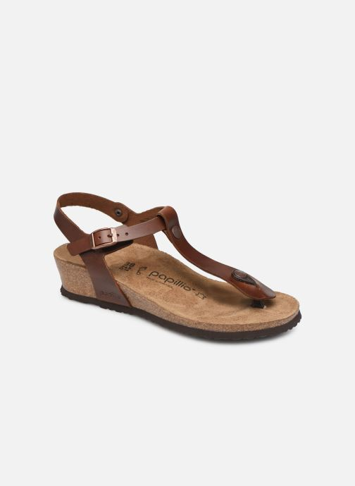 Sandales et nu-pieds Papillio Ashley Cuir W Marron vue détail/paire