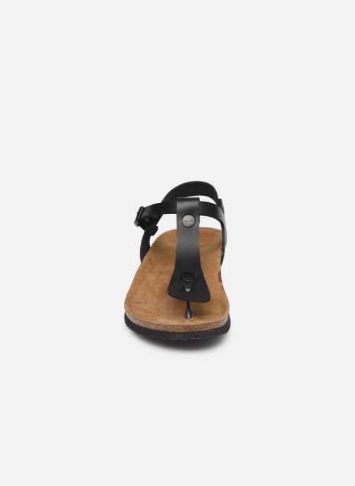 Sandales et nu-pieds Papillio Ashley Cuir W Noir vue portées chaussures