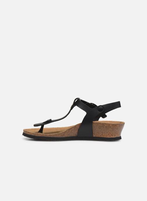 Sandalen Papillio Ashley Cuir W schwarz ansicht von vorne
