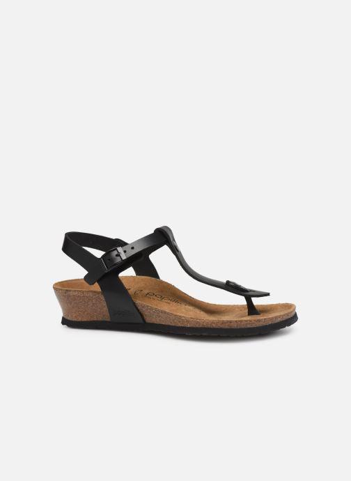 Sandalen Papillio Ashley Cuir W schwarz ansicht von hinten