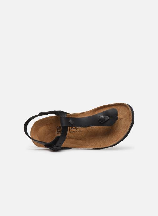 Sandalen Papillio Ashley Cuir W schwarz ansicht von links
