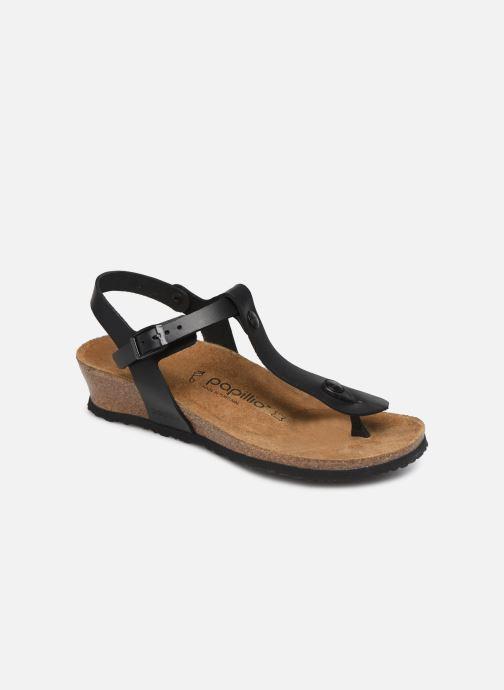 Sandales et nu-pieds Papillio Ashley Cuir W Noir vue détail/paire