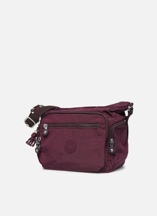 Handtaschen kipling Gabbie S weinrot schuhe getragen
