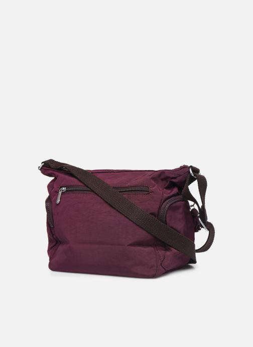 Handtaschen kipling Gabbie S weinrot ansicht von rechts