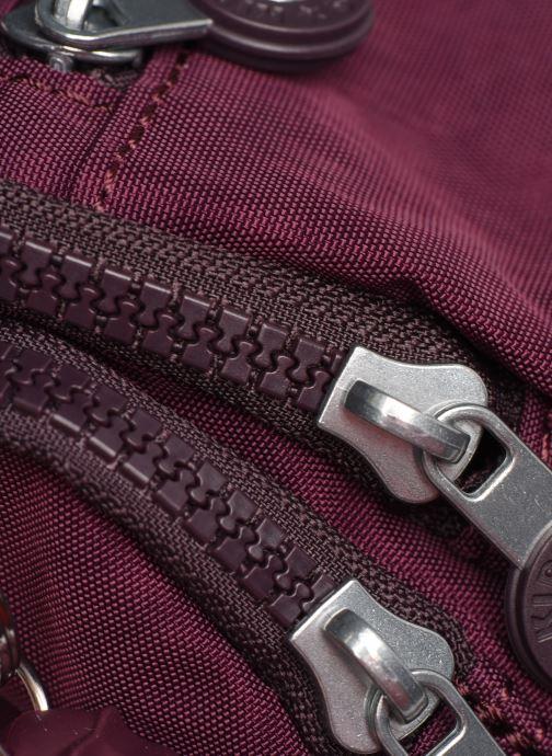 Handtaschen kipling Gabbie S weinrot ansicht von links