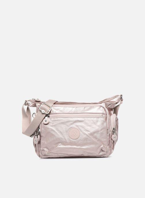 Handtassen kipling Gabbie S Roze detail