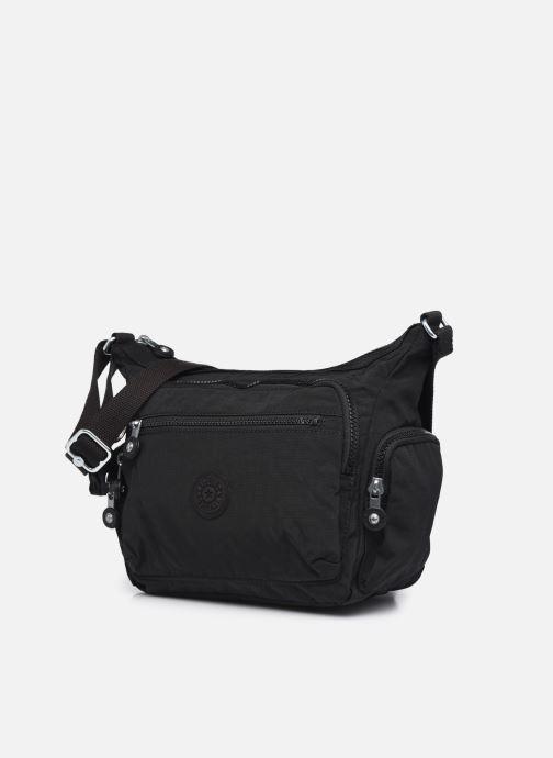 Handtaschen Kipling Gabbie S schwarz schuhe getragen