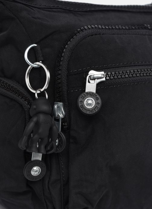 Handtaschen Kipling Gabbie S schwarz ansicht von links