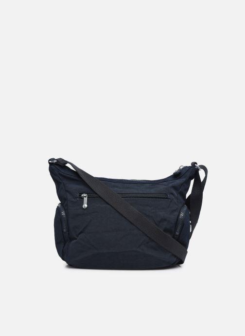 Handtaschen Kipling Gabbie S blau ansicht von vorne