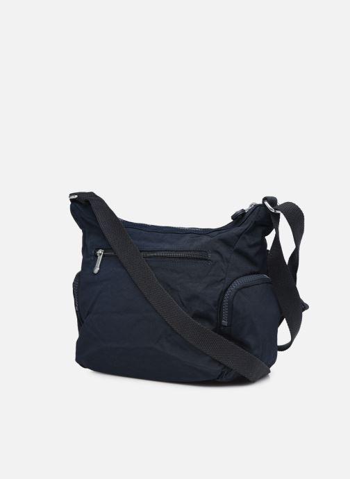 Handtaschen Kipling Gabbie S blau ansicht von rechts