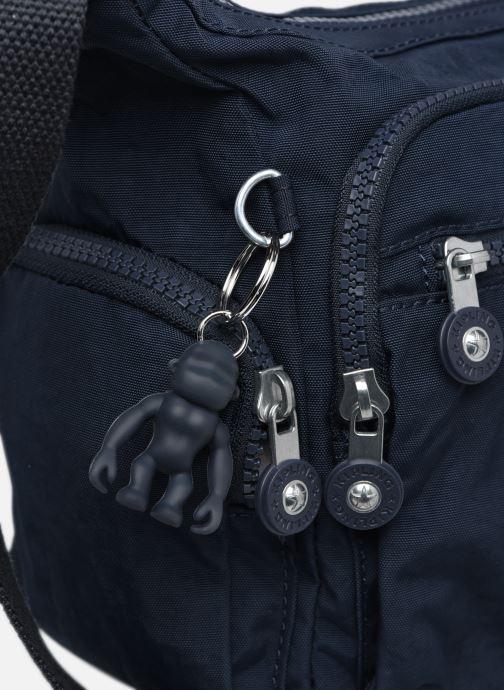 Handtaschen Kipling Gabbie S blau ansicht von links