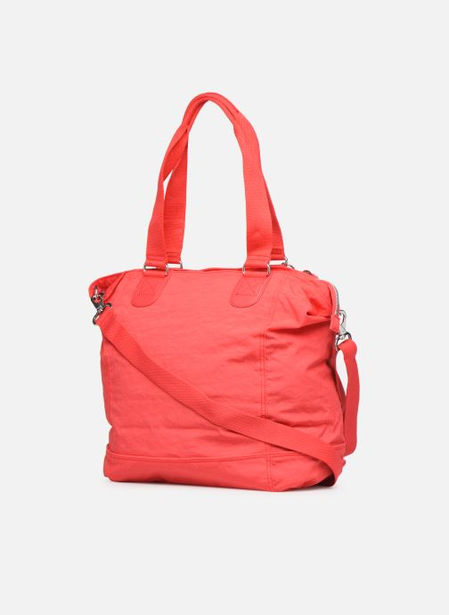 Handtaschen kipling Shopper C orange ansicht von rechts