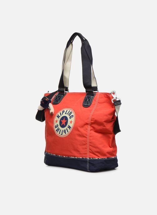 Handtassen kipling Shopper C Rood model