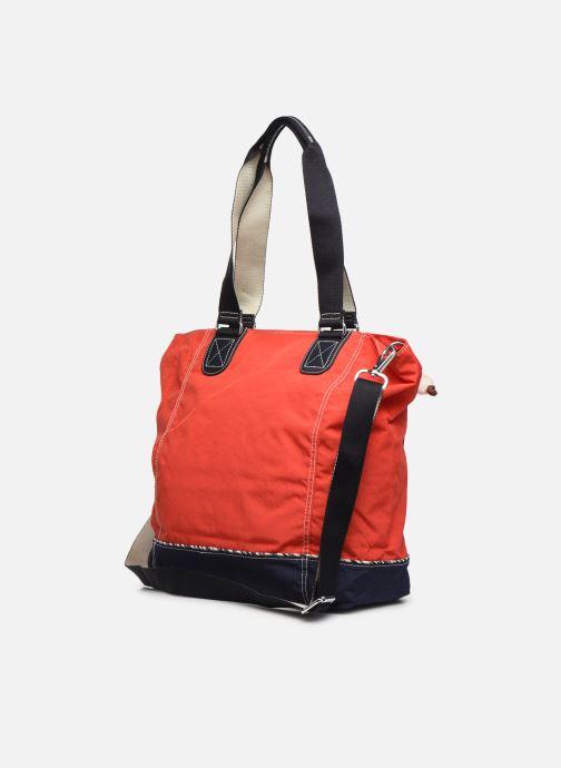 Handtassen kipling Shopper C Rood rechts
