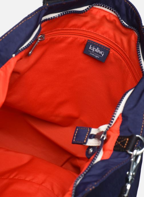 Handtassen kipling Shopper C Blauw achterkant