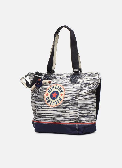 Handtaschen Kipling Shopper C weiß schuhe getragen
