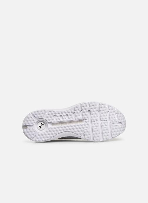 Chaussures de sport Under Armour UA HOVR Phantom SE Blanc vue haut