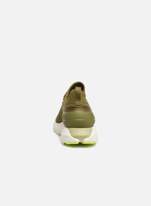 Chaussures de sport Under Armour UA HOVR Phantom SE Vert vue droite