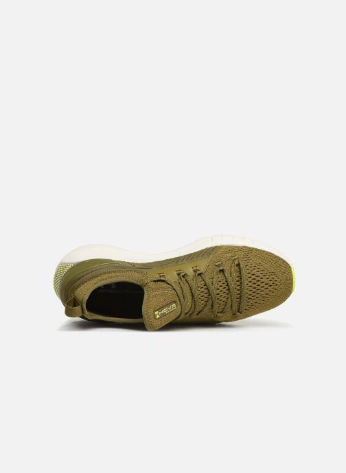 Chaussures de sport Under Armour UA HOVR Phantom SE Vert vue gauche