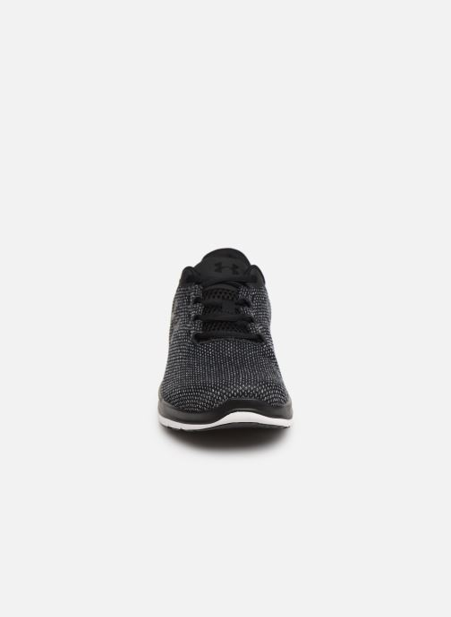 Baskets Under Armour UA Remix FW18 Noir vue portées chaussures