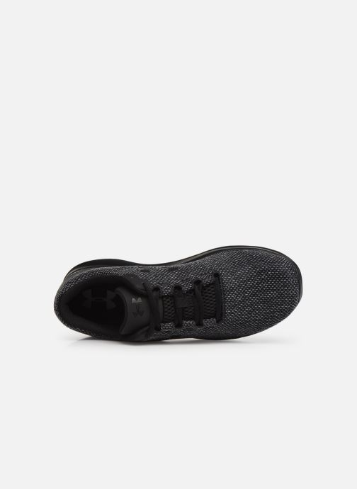 Sneaker Under Armour UA Remix FW18 schwarz ansicht von links