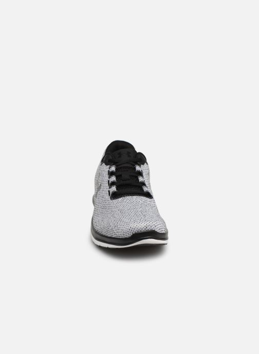Baskets Under Armour UA Remix FW18 Gris vue portées chaussures