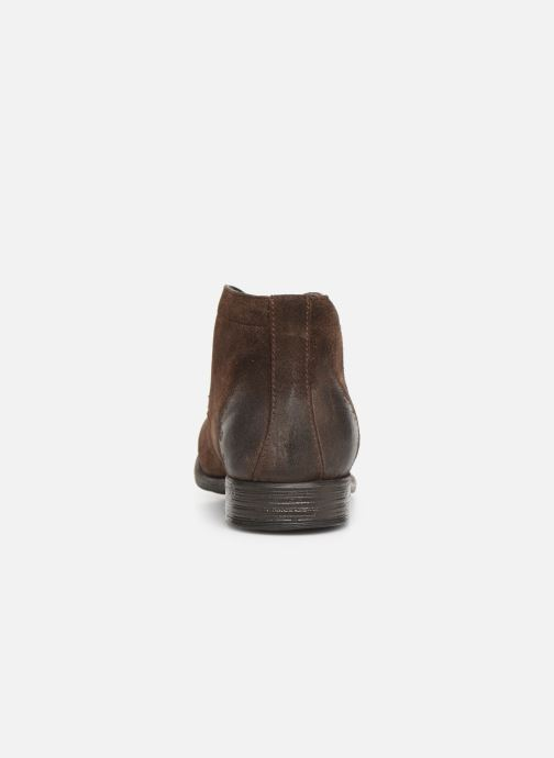 Ankle boots I Love Shoes THAIRPLANE LEATHER Brown view from the right