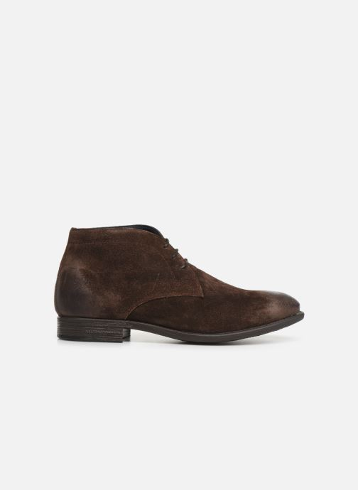 Ankle boots I Love Shoes THAIRPLANE LEATHER Brown back view