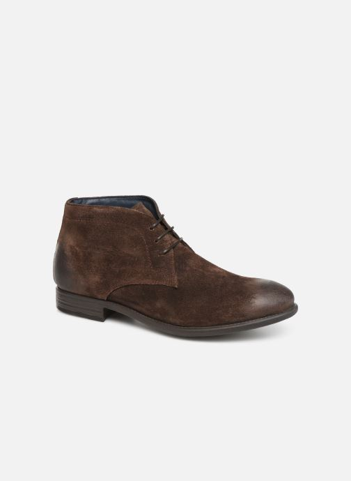 Ankle boots I Love Shoes THAIRPLANE LEATHER Brown detailed view/ Pair view