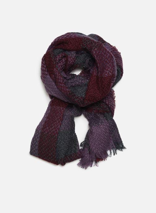 Sciarpa y foulard Monoprix Femme ECHARPE ACRYLIQUE CARREAUX AMETHYSTE Viola vedi dettaglio/paio