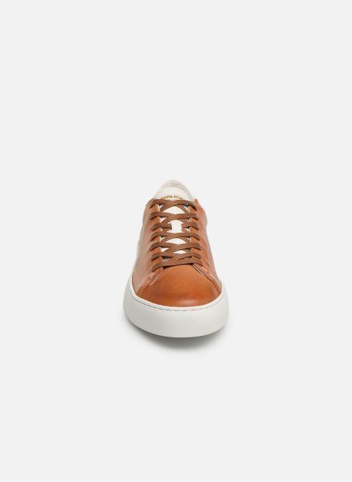 Baskets Pataugas Kella C Marron vue portées chaussures