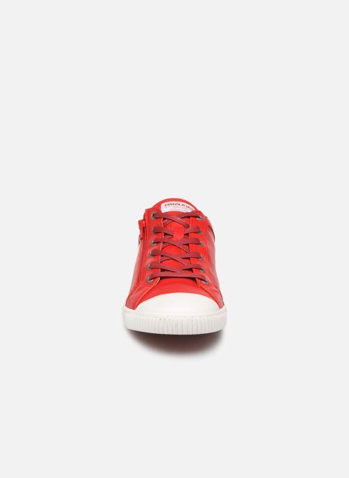 Baskets Pataugas Bump/N C Rouge vue portées chaussures