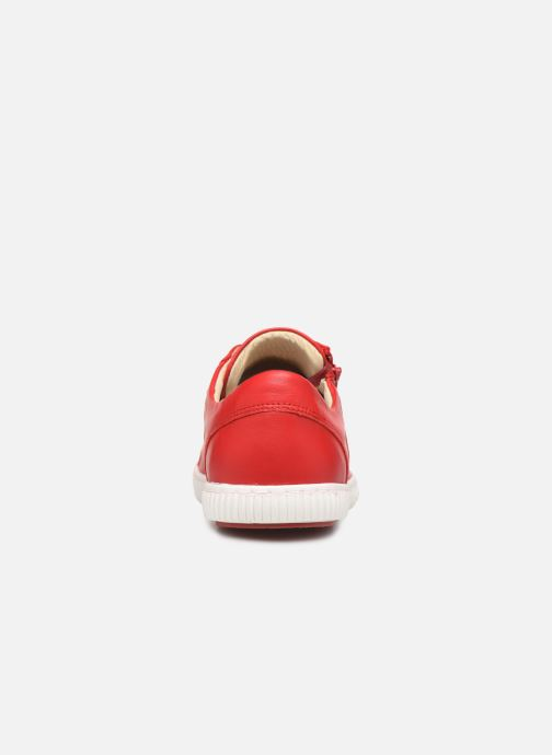 Baskets Pataugas Bump/N C Rouge vue droite